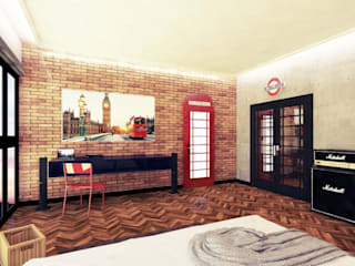 London Bedroom:modern  oleh Aeternite, Modern