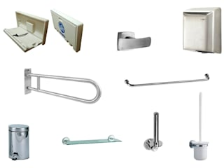 Acor México Corridor, hallway & stairs Clothes hooks & stands