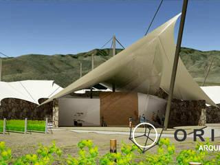 PROYECTO DE VIÑEDO Y CAVA CHIHUAHUA Casas modernas de ORIGEN ARQUITECTOS Moderno