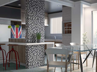 render a Built-in kitchens