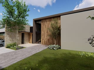 Casa Habitacion QL: Casas unifamiliares de estilo  por Tola Arquitectos