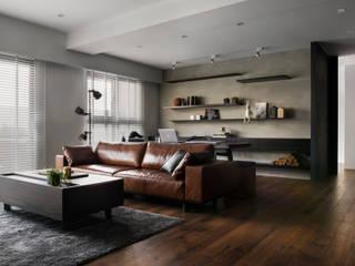 邑田空間設計 Livings de estilo moderno