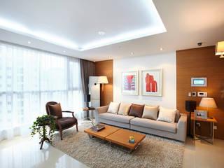 Wohnzimmer von Design Mind Mirae