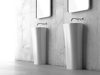 Minimalist style bathroom by ZICCO GmbH - Waschbecken und Badewannen in Blankenfelde-Mahlow Minimalist