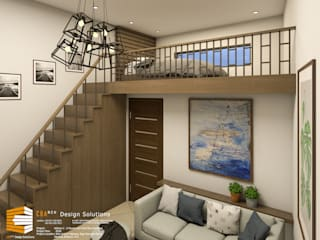 2-Storey with Penthouse Mixed-Use Building by CB.Arch Design Solutions Modern