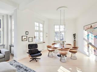 Wohnung in Jugendstilarchitektur:  Esszimmer von studio1073