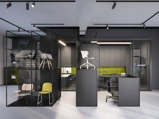 PROJEKT STUDIA MEBLI KRÓL – BIELSKO-BIAŁA: styl , w kategorii Powierzchnie handlowe zaprojektowany przez Głogowscy Architektura + Wnętrza