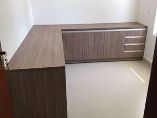 Bertoiia Ambientes Planejados Office spaces & stores MDF Brown