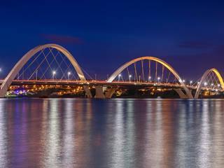 Ponte Juscelino Kubitschek: Escadas  por Rafael Serathiuk
