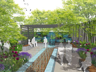 Conceptual Design for RHS Chelsea by Aralia 모던