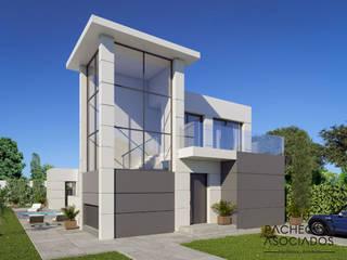 Villa en La Manga Club: Casas de estilo  de Pacheco & Asociados