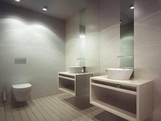 Accessórios com design de Eduardo Souto Moura: Casas de banho  por Padimat Design+Technic