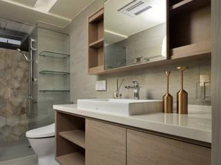 北大-陳公館(人文休閒):  浴室 by Mk-空間設計