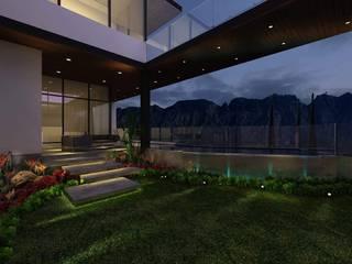 Residencia LA CIMA Balcones y terrazas eclécticos de Álzar Ecléctico
