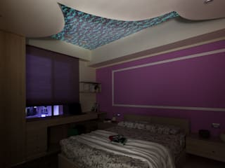 泰山-張公館(低調奢華):  臥室 by Mk-空間設計