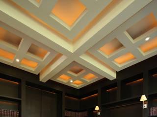 Plafones en Biblioteca:  de estilo  por Lazza Arquitectos