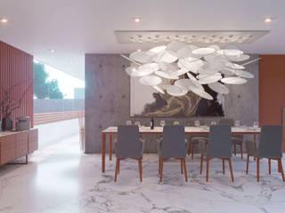 HOUSE 410 Comedores modernos de Progressive Design Firm Moderno