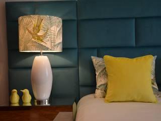 Projeto de Decoração Apartamento T1: Quartos  por Ana Oliveira Home Design,Moderno