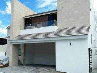 Residencia Sierra Alta, Monterrey, N.L.: Casas de estilo  por AD ARQUITECTOS DISEÑO / CONSTRUCCIÓN / MOBILIARIO
