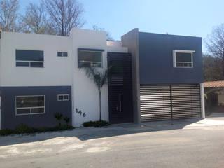 Residencia Santiago, N.L.: Casas de estilo  por AD ARQUITECTOS DISEÑO / CONSTRUCCIÓN / MOBILIARIO