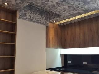 Espaces commerciaux originaux par 藝舍室內裝修設計工程有限公司 Éclectique