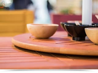 Top girevole diametro 60 cm per tavolo da giardino tondo di DEGHI