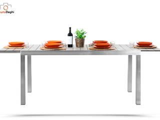Tavolo da giardino polywood allungabile fino a 225 cm di DEGHI Moderno