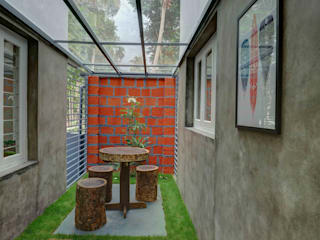 AANGAN:  Garden Shed by MAAD Concepts