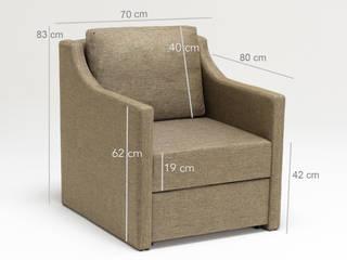 K105 Mobilya Pazarlama Danışmanlık San.İç ve Dış Tic.LTD.ŞTİ. Salas/RecibidoresSofás y sillones Madera Marrón