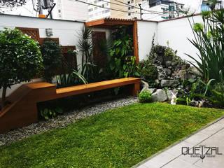 Modern garden by Quetzal Jardines Modern