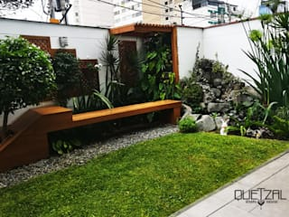 Jardines modernos de Quetzal Jardines Moderno