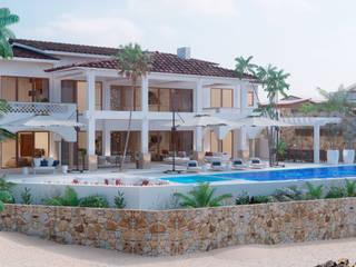 Villas Del Mar, Palmilla Casas modernas de Progressive Design Firm Moderno