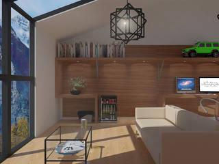 Box Room by Andrey Arredondo Arquitecto