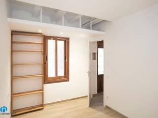 Grupo Inventia Salas de estilo mediterraneo Concreto Beige