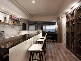 小空間機能大無限 根據 大漢創研室內裝修設計有限公司 殖民地風