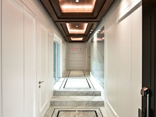 Modern Corridor, Hallway and Staircase by inDfinity Design (M) SDN BHD Modern
