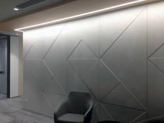 Banema S.A. 書房/辦公室 水泥 Grey