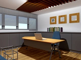 Bider Mimarlık İnşaat Ltd. Şti. – Es Yapı Ofis :  tarz Ofis Alanları