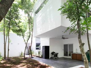 Casa La Noria Balcones y terrazas modernos de Nova Arquitectura Moderno