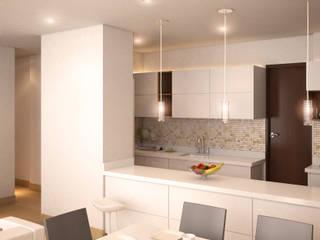 TORRES DEL CIELO:  de estilo  por DIARQ diseño arquitectonico SAS