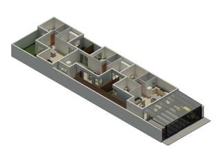 Proyecto de viviendas :  de estilo  por CG ARQUITECTA