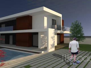 Casas de estilo minimalista de Método-Arquitectura & Decoração Minimalista