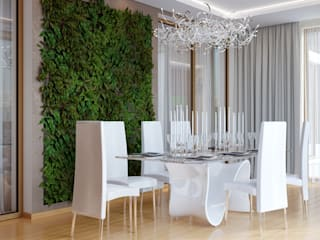 Eclectic style dining room by студия Design3F Eclectic
