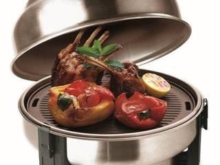 grill mobilny SAfire: styl , w kategorii  zaprojektowany przez Family Garden Grzegorz Tarnowski