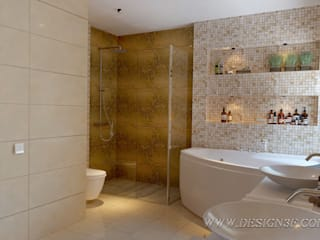 Eclectic style bathrooms by студия Design3F Eclectic