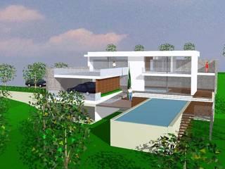 Projeto de Moradia Unifamiliar: Casas unifamilares  por Eduardo Arquitetura