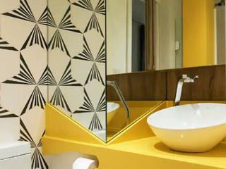 Baños de estilo  por STUDIO CALI ARQUITETURA E DESIGN