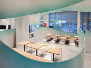 nana's green tea アリオ倉敷店 モダンな商業空間 の 株式会社KAMITOPEN一級建築士事務所 モダン