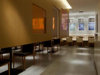 nana's green tea 札幌PASEO店 モダンな商業空間 の 株式会社KAMITOPEN一級建築士事務所 モダン