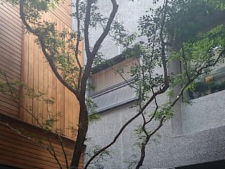 黃耀德建築師事務所 Adermark Design Studio Minimalist style garden